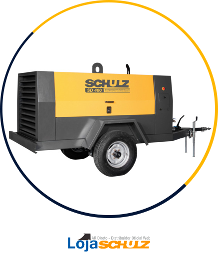 Compressor Industrial SD Portátil