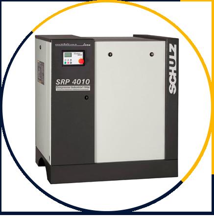 Compressor de Ar de Parafuso SRP 4010 Lean Ar Direto