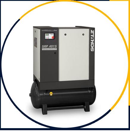 Compressor de Ar de Parafuso SRP 4015 Lean