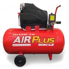 COMPRESSOR DE AR SCHULZ AIR PLUS CSA 8,5/50 - 110V